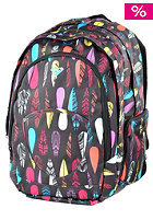 ROXY Womens Outta Feather X3 Backpack anth ax ethnic