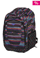 ROXY Womens Outta Stripe X3 Backpack anth ax helie