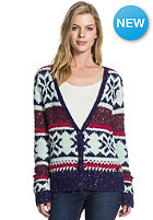 ROXY Womens Pampero Knit Sweat indigo