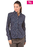 ROXY Womens Quiet Life Shirt Printed indigo