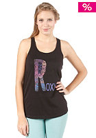 ROXY Womens Racer Tank Green S/S T-Shirt true black