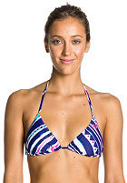 ROXY Womens Rev Tiki Triangle Bikini Top deep blue