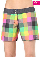 ROXY Womens reversibel Multico Newport Mid Boardshort black multi