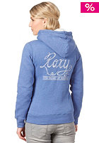 ROXY Womens Rock Party Hooded Zip Sweat chelsea blue