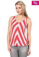 ROXY Womens Roller Tank Top washing red