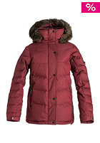 ROXY Womens Romance Jacket ruby wine