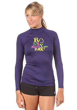 ROXY Womens Roxy Life L/S Lycra purple
