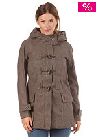 ROXY Womens Sea Deer Jacket dark heather grey