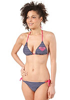 ROXY Womens Shore Stripe Tie Sides 2 Bikini navy shore stripes