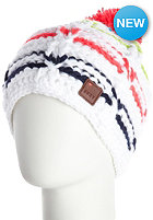 ROXY Womens Snowed in Hat white