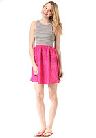ROXY Womens South Side 6025 berry palm springs patter