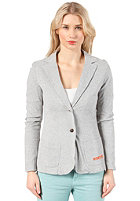 ROXY Womens Staple Knit Blazer heather grey