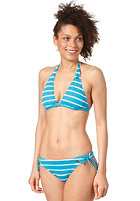 ROXY Womens Strippy 70s Lowrider Tie Sides Bikini sea green