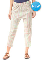 ROXY Womens Sun Streak Chino Pant warm white surf stripe stripe