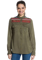ROXY Womens Sunday River L/S Shirt recruit olive