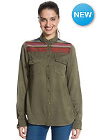 ROXY Womens Sunday River Shirt recruit olive