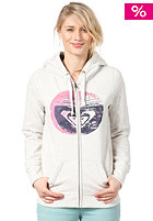 ROXY Womens Sunset Circle Logo Hooded Zip Sweat light heat grey