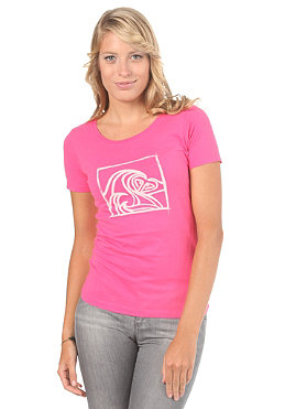 ROXY Womens Surfin Logo S/S T-Shirt new pink