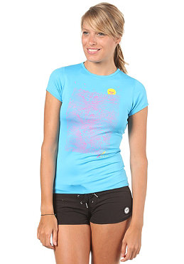 ROXY Womens Swing Swll Capsleeve Lycra blue