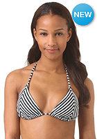 ROXY Womens Tiki Triangle Bikini Top love struck true black