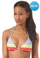 ROXY Womens Tiki Triangle Bikini Top sail away placement print cham