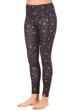 ROXY Womens Tree Trunk abstract ditsy floral black