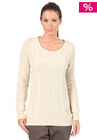ROXY Womens Twenty One Knit Cardigan natural
