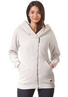 ROXY Womens Twin Valley Hooded Jacket heather grey