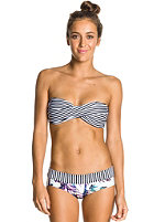 ROXY Womens Twist Bandeau Shorty Bikini Pant true black
