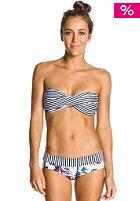 ROXY Womens Twist Bandeau Shorty Bikini Pant true black