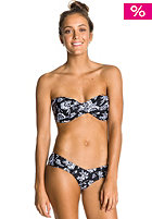 ROXY Womens Twist Bandeau Sweetheart Bikini Pant true black