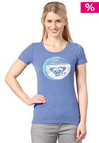 ROXY Womens Upstrokes S/S T-Shirt chelsea blue
