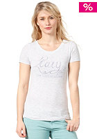 ROXY Womens Upstrokes S/S T-Shirt light heat grey