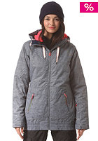 ROXY Womens Valley Hooded Jacket castle rock