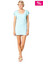 ROXY Womens Veracruz Tee Dress sky blue