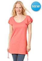 ROXY Womens Veracruz Tee Dress tangarine