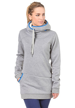 ROXY Womens Waterfall Hooded Sweat heather grey