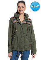 ROXY Womens Winter Cloud Jacket recruit olive