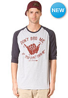 RUSTY Bro Ho S/S T-Shirt heather marle