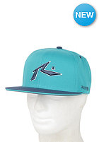 RUSTY Chronic Snapback Cap teal