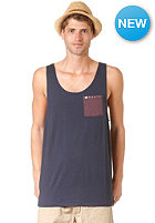 RUSTY Contrasts Tank Top deep space