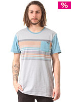 RUSTY Lionel S/S T-Shirt grey marle