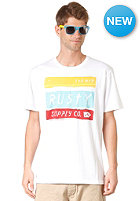 RUSTY No Cigar S/S T-Shirt white