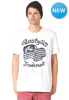RUSTY Patriot S/S T-Shirt white