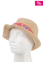 RUSTY Womens Beach Split Hat natural