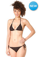 RUSTY Womens Bubble Bikini Set black