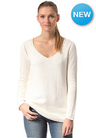 RUSTY Womens Killer V-Neck Knit Sweat cream