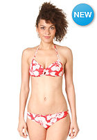 RUSTY Womens Rivaled Halter Bikini Set chilli red