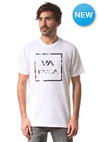 RVCA All The Way Led S/S T-Shirt white