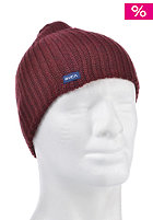 RVCA Based Beanie red grease